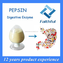 China supplier high quality pepsin/Digestive Enzyme pepsin/active pharmaceutical ingredient pepsin