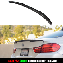 M4 Style For BMW F32 Carbon Spoiler 4 Series 2 Door Coupe F32 Carbon Fiber Rear Trunk Spoiler 420i 428i 430i