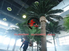 high quality indoor&outdoor decoration trees fiberglass artificial date palm tree for mordern house design decoration