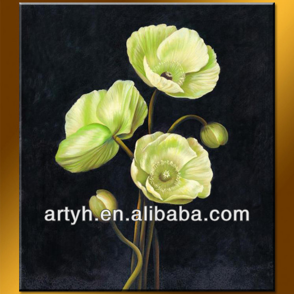 2014 New design acrylic painting flower image