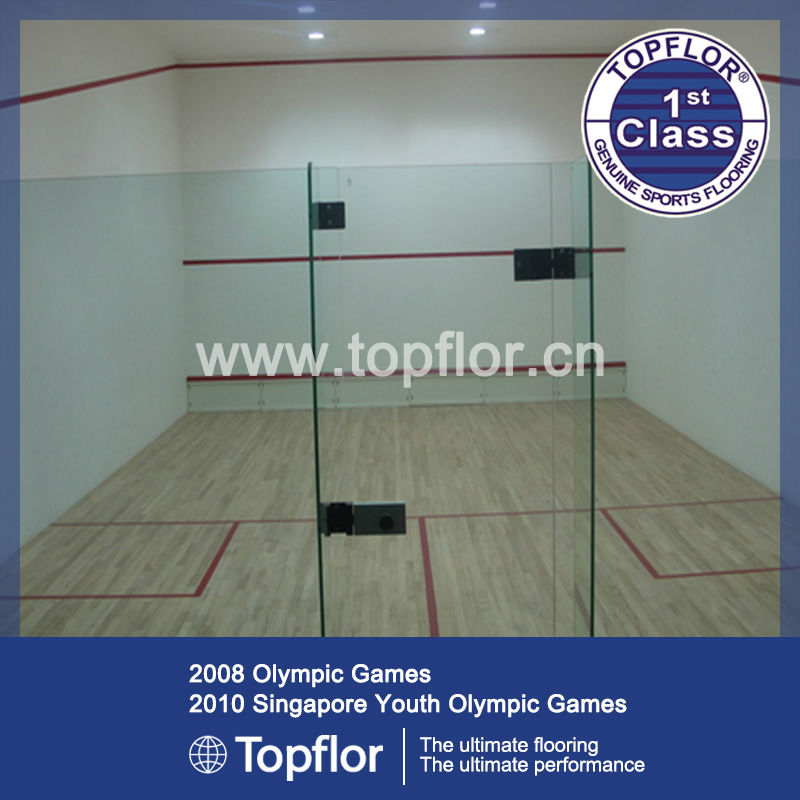 Indoor Tennis Room Wooden surface Flooring Sports flooring Surface