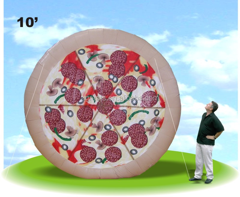 Custom pizza shaped balloon, advertising inflatable balloon for sale S6001