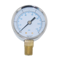 "Thread 1/4"" Bottom Mounting MPa Pressure Gauge"