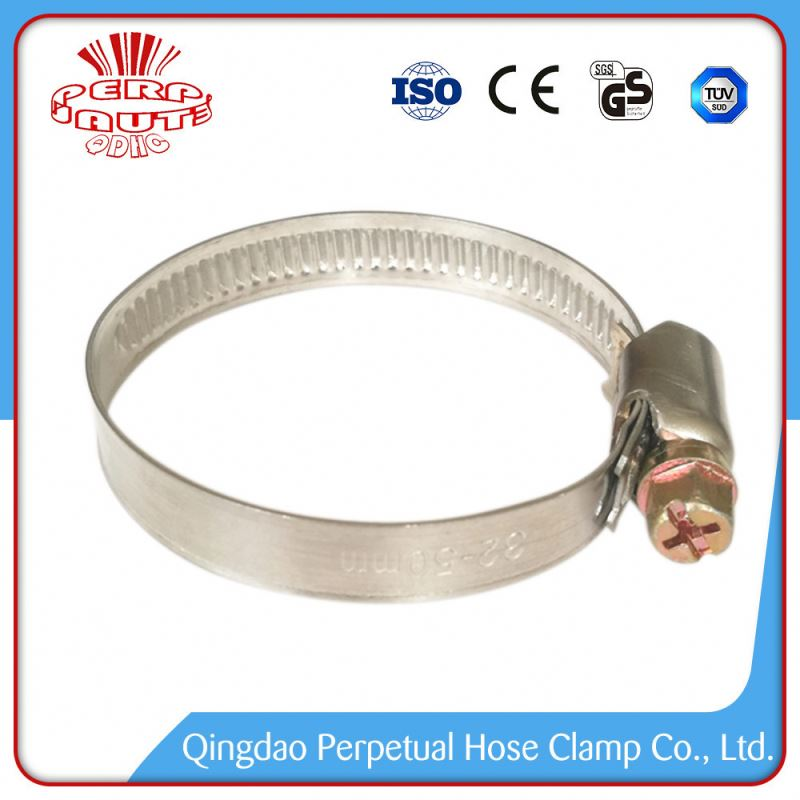 China Factory Price safety smooth hose clamps