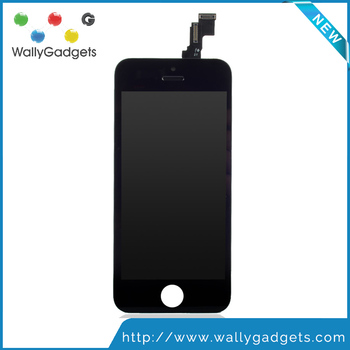 100% Grade AAA Replacement with Digitizer Assembly LCD Screen Front Display Black For iPhone 5C LCD