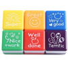 2015 Hot Sale Set of 6 Teacher Self Inking Praise and Reward Motivation Sticker School Stampers Wholesale