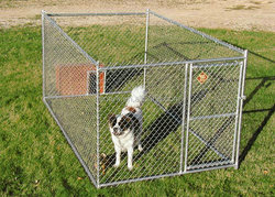 high quality hot dipped galvanized chain link dog kennels