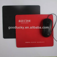 Utility&high quality promotion gift rubber mouse pad with cloth
