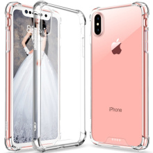 Crystal Clear Case Hard Back TPU Bumper Shock Proof Cover For Apple iPhone X