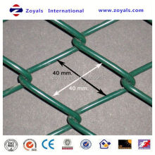 Reliable Supplier ISO 9001:2008 portable fence machine/specialized production pvc chain link fence machine