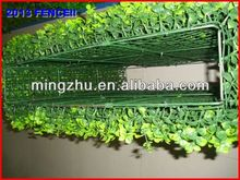 2013 China factory PVC fence top 1 Gargen willow natural wood frame willow border fence screen