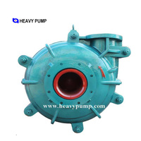 corrosion resistant bare shaft slurry pump factory price solid slurry pump