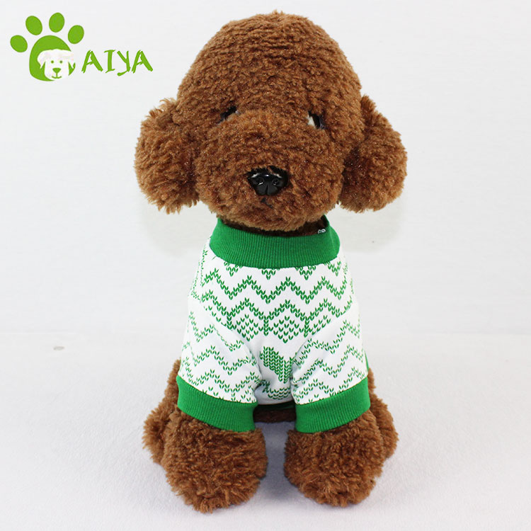Free sample spring and autumn colorful pet accessories cotton fabric dog clothes