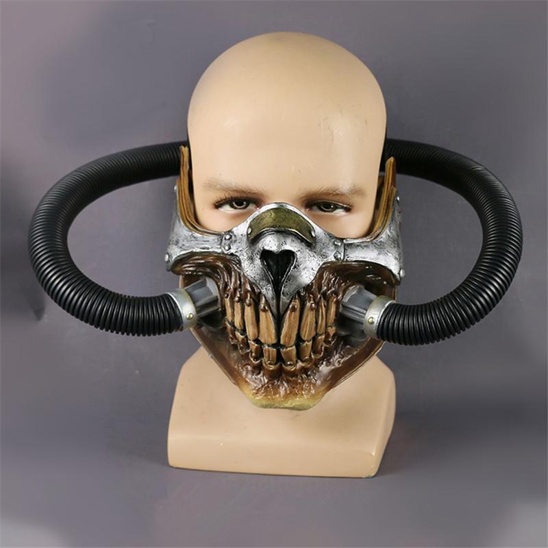 Cosermart Movie Mad Max Mask Helmet Punk Mask Skeleton Mask Halloween Devil Props Cosplay PVC Accessory Mask (4)