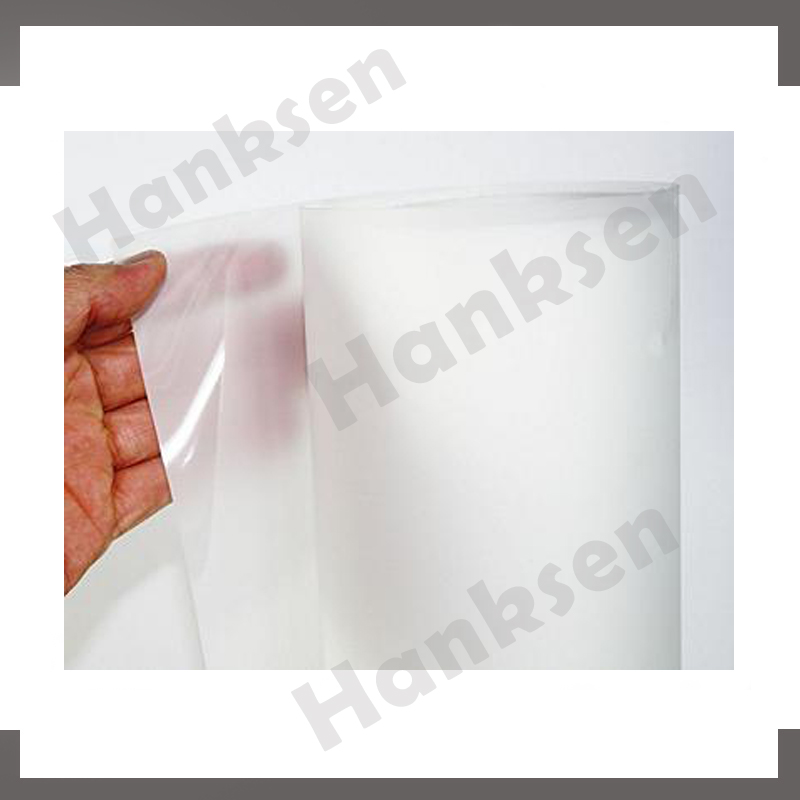 glass window advertising adhesive holographic transparent rear projection film