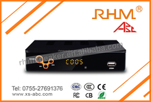 Digital Terrestrial TV Receiver with MPEG-2/MPEG-4 Decoding HD 1080P isdb-t transmitter,for South America maket