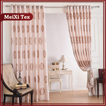 Jacquard Heavy Fabric Cutwork Curtains,eyelet Curtain Rings,domestic  Curtains