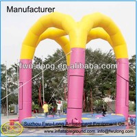 Hot Sale Fwulong Brand Kids and Adult Inflatable Bungee Run for Sale