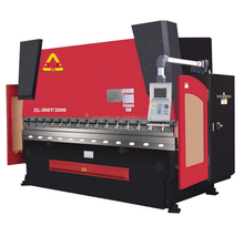 Shanghai JSL hydraulic press brake machine for bending metal plates
