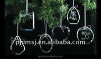 factory wholesale crystal hanging ornaments for weeding & home decoration