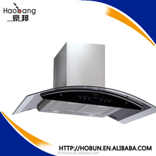 hot-sale wall mounted 60cm 90cm kitchen hood/cooker hood for kitchen