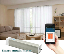Smart curtain motor for zigbee smart home automation system