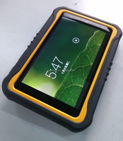 Sunlight readable 7 inch Android 3G NFC UHF RFID GPS Glonass Corning Gorilla Glass III 9000mah battery rugged tablet