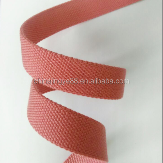 Wholesale polyester cotton tape webbing strap belt for bag