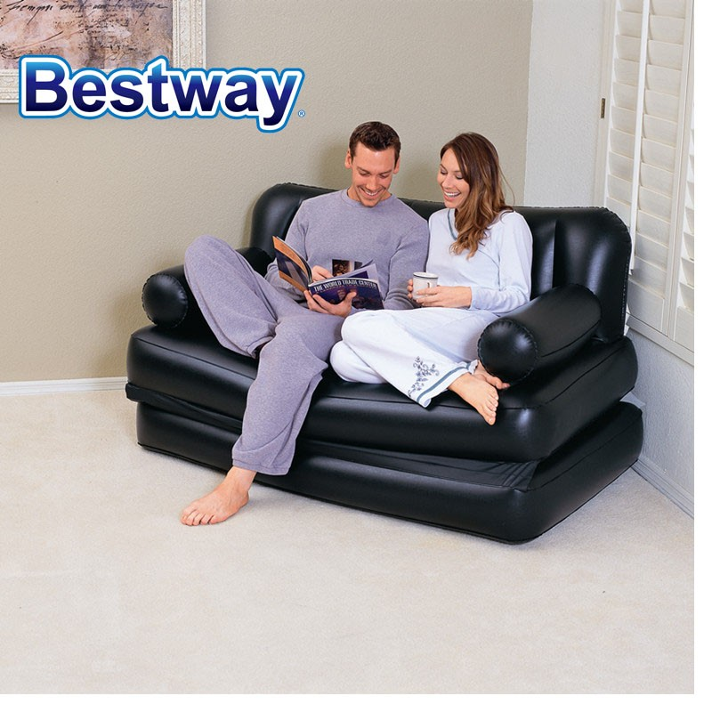 Bestway Double 5-In-1 Multifunctional Couch with Sidewinder-AC Air Pump Couch Bed Sectional Couch