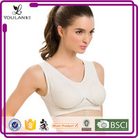 Top Sale Good Quality Not 100% Cotton Fitness Wear Cotton Bra