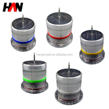 PC material powered Led tower warning solar lights
