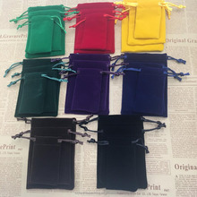 Custom Various Color Velvet Jewelry Bag