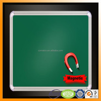 magnetic writing board with grid line in white black green color
