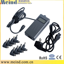 Adjustable output 90w 5v 1a global laptop charger with usb charger