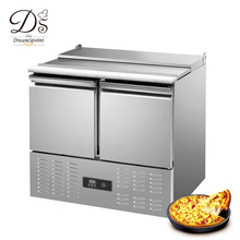 Restaurant commercial Sandwich prep table refrigerator pizza prep work table