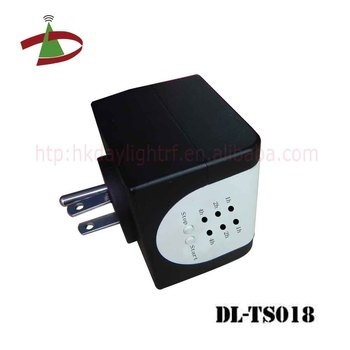 ODM service cube design small size simple operate on/off timer plug
