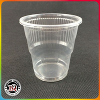 Clear Disposable Plastic Cup For Hot Drink
