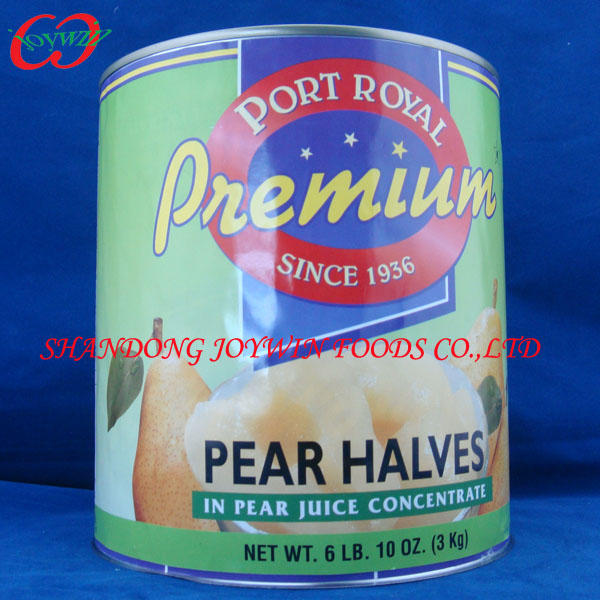 Cheap canned food manufacturer, canned snow/bartlett pears halves/sliced/diced in syrup