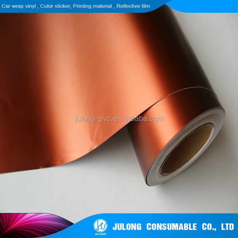 Hot selling Matt chrome car body wrap car cutting sticker car sticker vinyl with low price