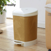 Best price foot pedal plastic waste collection garbage trash dust litter rubbish bin for sale
