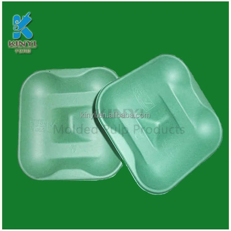 Colorful lovely style Biodegradable waterproof soap tray,Paper pulp package for waterproof soap tray