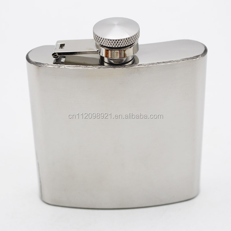 factory wholesale new design stainless steel thermos hip flask for men