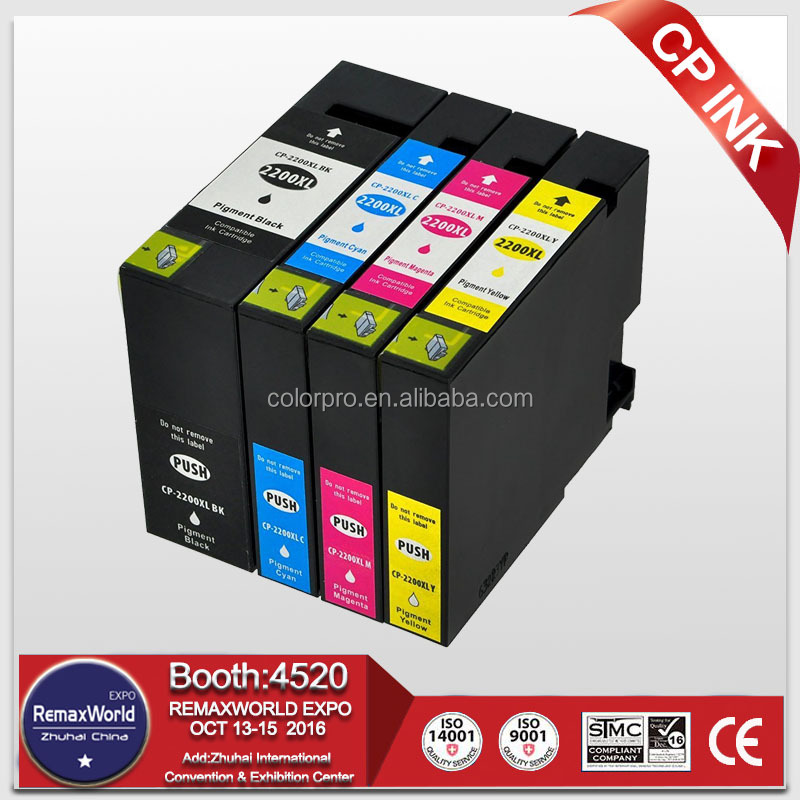 Compatible ink cartridge for Canon PGI-2200 XL PGI-2200 with Pigment Ink Tank for Canon MAXIFY iB4020, MB5020,MB5320 printer