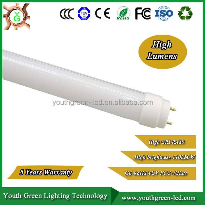High Lumens External smd 2835 led fluorescent light 3 feet dimming t8 led tube light 600MM 900MM 1200MM 1500MM 1800MM 2400MM