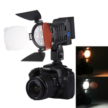 Drop Shipping LED-5010 6 LED 750LM Dimmable Video Light on-Camera Photography Fill Light