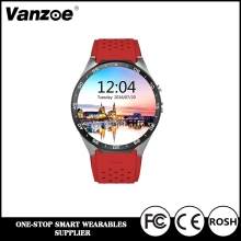 Best Seller Smart Watch 3G Android WiFI Smartwatch KW88, Mobile Phone GSM