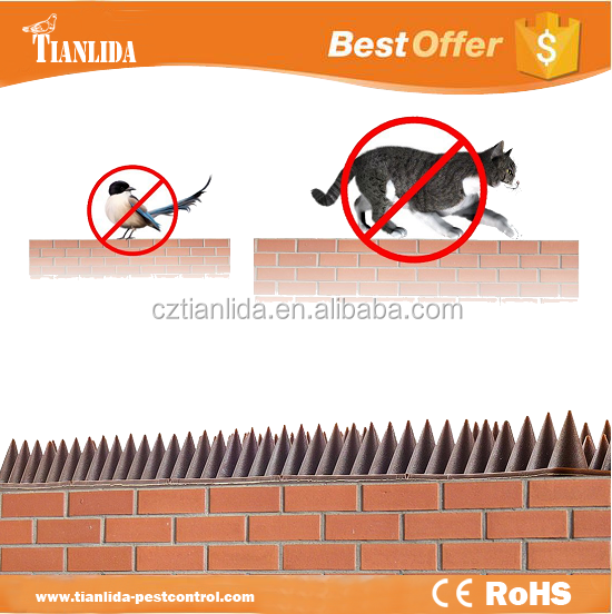 Plastic Fence Wall Cat Spikes---TLD5016
