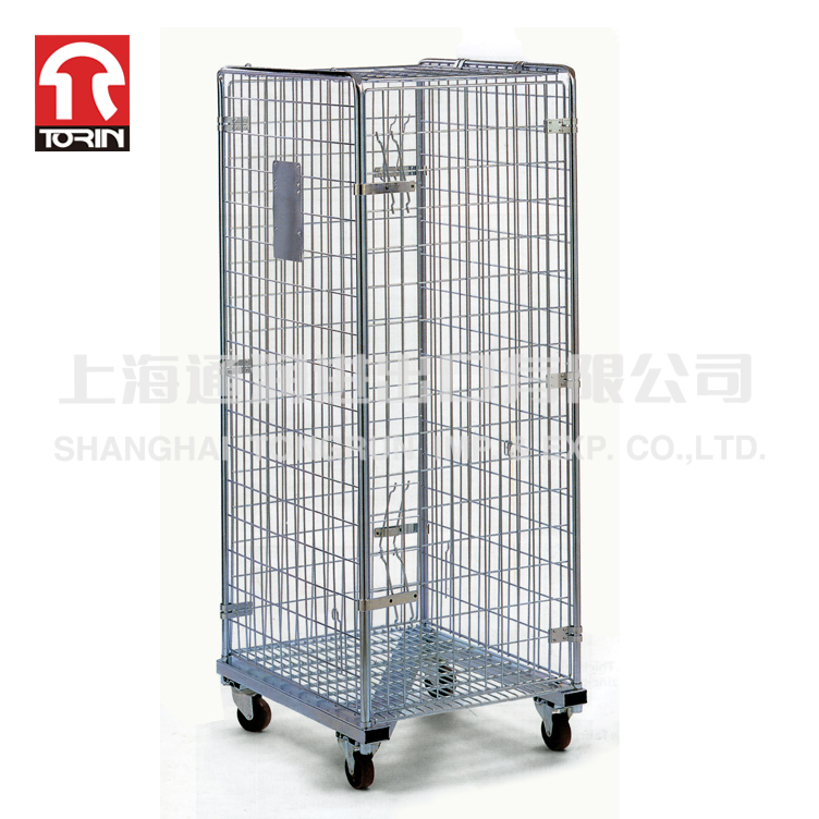 High Efficiency Moveable Folding Steel Storage Table Trolley SWK1012
