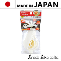 Measuring spoons 5P set | Sanada Seiko Plastic High Quality made in japan | weigh batching concrete mixer