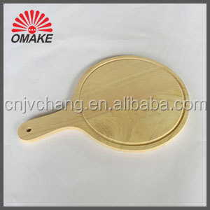wholesale high quality pizza serving trays wooden cutting board